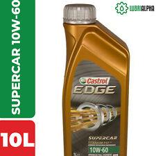 Olio Motore Castrol EDGE SUPERCAR 10W60 TITANIUM FST 10 Litri