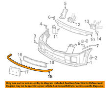 Cadillac GM OEM 03-07 CTS Front Bumper-Spoiler Lip Chin Splitter 25716142