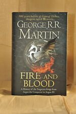 George RR Martin Fire and Blood Signed
