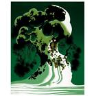 """Eyvind Earle """"Snow Covered Bonsai"""" Hand-Signed Limited Edition Serigraph COA"""