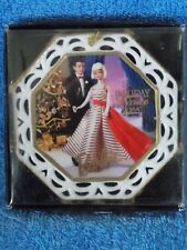 New 1996 Enesco Barbie Holiday Dance Ornament