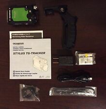 Used Olympus Stylus Tough TG-Tracker Digital Camera Green