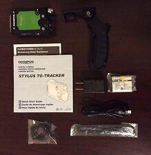 Used Olympus Stylus Tough TG-Tracker Digital Camera Green