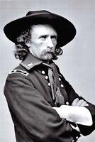 Civil War Postcard Brevet Major General George Armstrong Custer in Field Uniform