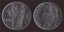 100 LIRE 1984 MINERVA - ITALIA Q.FDC/aUNC QUASI FIOR DI CONIO