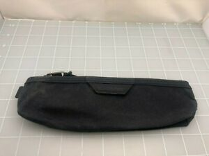 Judd's Very Nice Black Canvass Blackwing Pencil Case