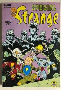 STRANGE SPECIAL #23 French color thick Marvel Comics album (1990) X-Men VG+