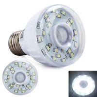 3W/5W E27 Human Body Far Infrared Sensor LED Light Automatic Lamp Bulb New