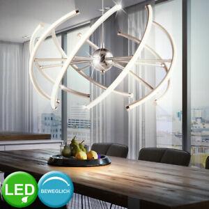 LED Decken-Lampe Schlaf-Wohn-Zimmer Kronleuchter Lüster Leuchte Arme VERSTELLBAR
