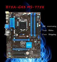 FOR MSI B85-G41 PC Mate Motherboard VGA HDMI DVI Intel ATX LGA1150 DDR3 32GB XU