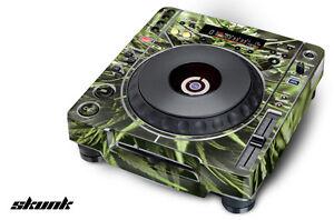 Skin Decal Sticker Wrap for Pioneer CDJ 800 MK2 Turntable Pro Audio Mixer SKUNK
