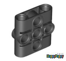 Lego 2x Technic Pin Connector Block 1x3x3 Schwarz Black 39793 Neuware New