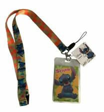 Lilo & Stitch Featuring Stitch Lanyard with ID Badge Holder Doublesided