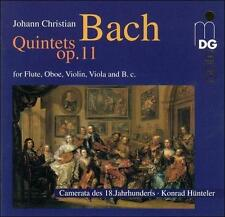 J.C. Bach: 6 Quintets op.11, New Music