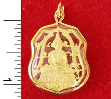 Thai Buddha Amulet from a Buddhist Temple in Bangkok            -          10805