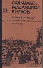 ROBERTO DA MATTA Carnavais, Malandros e Heróis TB 2 Bände