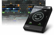Native Instruments tractor audio 2 mk2-DJ USB-Audio Interface