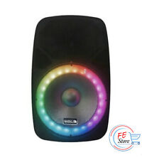 Edison Professional 2000 Watt PA Speaker System Bluetooth Wireless Portable