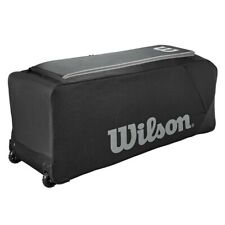 Wilson Team Gear Bag on Wheels - Black