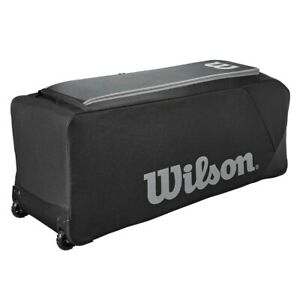 Wilson Team Gear Bag on Wheels - Black