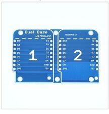 Dual Base Shield For Wemos D1 Mini IOT Blynk ESP8266 Arduino Node Mcu