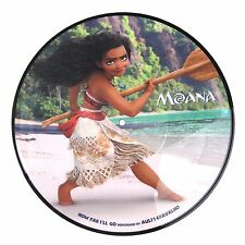 "Moana HOW FAR I'LL GO/YOU'RE WELCOME Limited RSD 2017 New Vinyl 10"" Picture Disc"