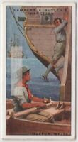 Huffum White Last Englishman Highwayman Hanged 90+ Y/O Ad Trade Card