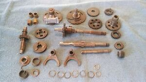BULTACO TRANS PARTS VINTAGE 4 SPEED PARTS LOT VINTAGE AHRMA