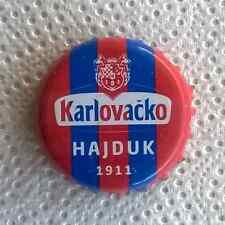 Karlovačko Lager Beer: Hajduk 1911 Ed Crown Cap chapa Kronkorken tappo (Croatia)