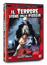 Il Terrore Viene Dalla Pioggia FILM DI Freddie Francis Christopher Lee DVD nuovo