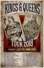 NONPOINT | BUTCHER BABIES 2018 Tour Ltd Ed RARE Poster +FREE Rock Metal Poster!