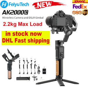 Feiyu AK2000C 3-Axis Handheld Gimbal Stabilizer For Canon Mirrorless DSLR Camera