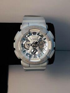 Casio G Shock GMA-S120DP Baby Blue Watch