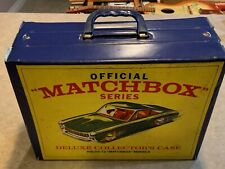 New ListingVintage Match Box Deluxe Carrying Case W/ Cars
