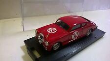 AUTO BRUMM 1:43 DIE CAST LANCIA AURELIA B20 COUPE 24 H LE MANS 1951 ROSSO  R162