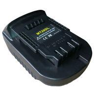Mt20Dl Adaptateur de Batterie pour Batterie Li-Ion Makita 18V Bl1830 Bl1860 D2W1