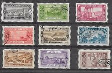 LEBANON PART SET SG 59/60/62/64-9GOOD/FINE USED WITH HINGE REMAINS 1928.