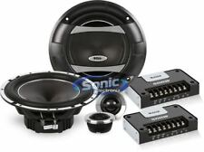 "Boss 6.5"" 2-Way Diecast Phantom Series Component Speaker System 