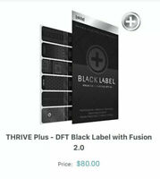 NEW Not Expired !! (MSRP $80+s/h) Le-Vel Thrive Black Label DFT 2.0 Patches (30)