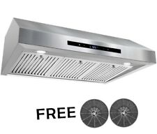 AKDY 36 in. 350 CFM Ducted Under Cabine Range Hood In Stainless Steel - RH0436