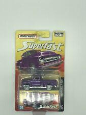 MATCHBOX SUPERFAST 1956 FORD F-100 #26 PURPLE DIE-CAST **BRAND NEW & VHTF**