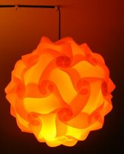 DIY retro puzzle light lamp shade vintage lampshade puzzle lamp light