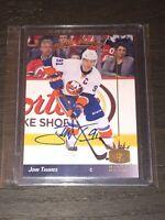 2013-14 Upper Deck SP JOHN TAVARES Signed NYI Autographed Toronto Maple Leafs