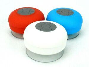 UFO Bluetooth Shower Speaker, Waterproof, Wireless, Hands-Free Phone, #ME4155