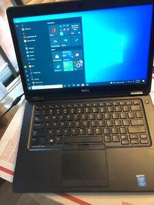 Dell Latitude E5450 14in LCD Intel Core i5-5300U@ 2.3GHz 8GB RAM /No charging