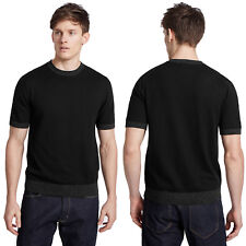 Marks & Spencer Mens Short Sleeve Tailored Fit Knitted T Shirt New M&S Tee Top