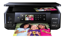 Epson Wireless Inkjet Printer Small-In-One Photo Scanner Copier-Printable CD DVD