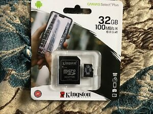 Kingston Canvas Select Plus MicroSD 32GB - (SDCS232GB)