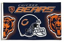 Chicago Bears Graphic 3 x 5 Foot Flag-7264
