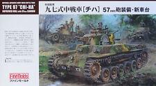 "FINE MOLDS® FM25 IJA Type 97 Medium Tank ""Chi-Ha"" Improved Hull in 1:35"